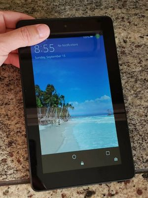 "Tablet with Alexa, 7"" Display, 8 GB, Black for Sale in Fort Myers, FL"