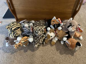 Beanie Babies - various cats for Sale in Edgewood, WA