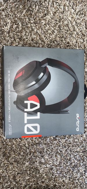 A10 headset ! Like new ! for Sale in Bell, CA