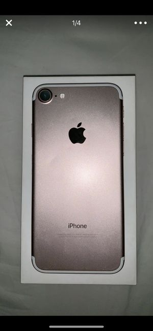 iPhone 7 Rose Gold (128GB) *used* for Sale in Vancouver, WA