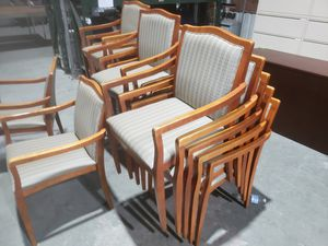 used RECEPTION CHAIRS FOR SALE!!!!.....each for Sale in Houston, TX
