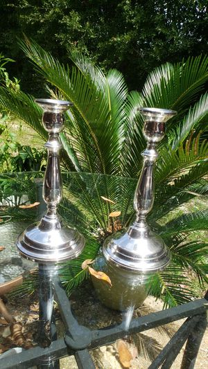 Lord Saybrook Sterling Silver Candlesticks for Sale in Milton, FL
