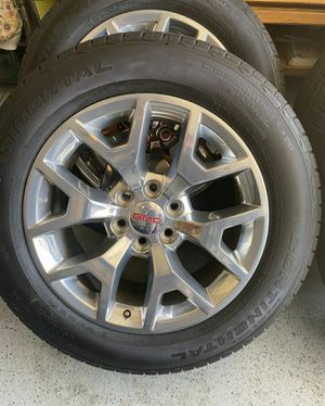 Chevy Silverado GMC Sierra 20 inch Wheels Honeycomb for Sale in Humble, TX