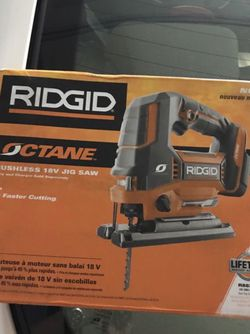 Ridgid 18-Volt OCTANE Cordless Brushless Jig Saw (Tool Only), Brand New unopened for Sale in South El Monte,  CA