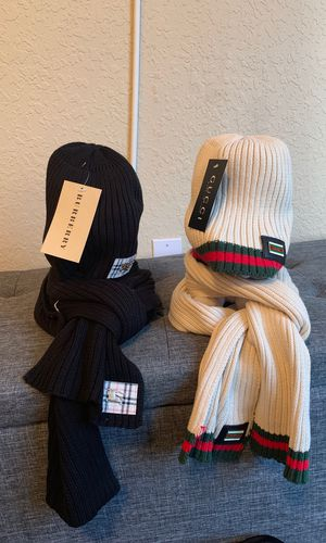hat and scarf gucci for Sale in Kissimmee, FL