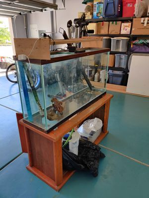 75gal aquarium with a TON of extras for Sale in Jurupa Valley, CA