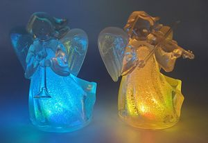 Dual Matching Light Up Angel Sculptures for Sale in Westminster, CO