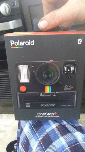 Polaroid One-Step Bluetooth i-Type Instant Camera with 2-8 packs of i-Type colored photos and 1-8pack of i-Type B&W photos for Sale in Seattle, WA