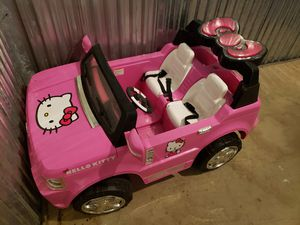 Hello Kitty Kids 2 Seater SUV for Sale in FAIRMOUNT HGT, MD
