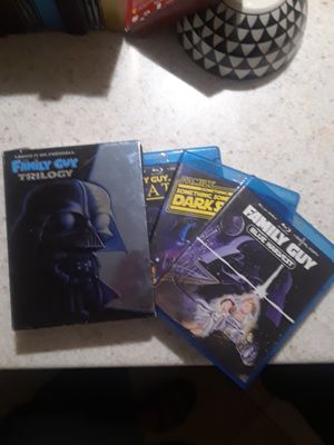 Family guy trilogy,laugh it up fuzzball DVD set for Sale in Springfield, MA