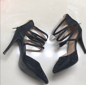 Black Sequined Heels size 7 for Sale in Miramar, FL