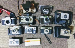 Vintage Cameras Argus, Pentax, Kodak Film photography Polaroids for Sale in Houston, TX
