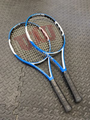Wilson N Fury Hybrid tennis rackets for Sale in Kent, WA