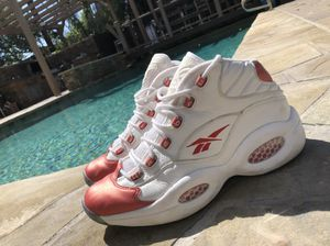 Reebok Questions Red size 11 for Sale in Los Angeles, CA