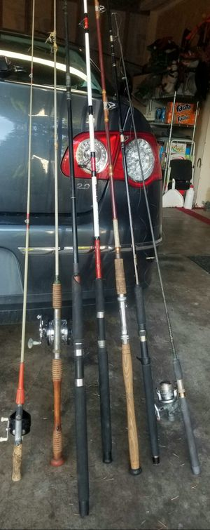 Vintage fishing poles for Sale in Everett, WA