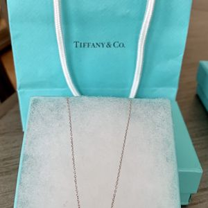 Tiffany & Co. Paloma Picasso heart necklace 925 silver for Sale in Tustin, CA