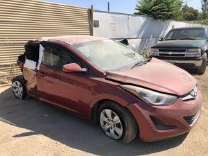 2016 Hyundai Elantra for parts only (still runs) for Sale in Salida, CA
