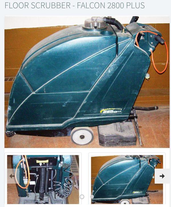 Floor scrubber falcon 2800 plus 2 machines 500 each