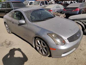 2005 Infiniti G35 Coupe Parts for Sale in Sacramento, CA