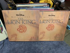 WALT Disney masterpiece the lion King laser disk for Sale in Columbus, OH