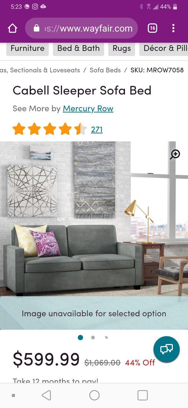 Groovy Cabell Sleeper Sofa Bed For Sale In San Jose Ca Offerup Creativecarmelina Interior Chair Design Creativecarmelinacom