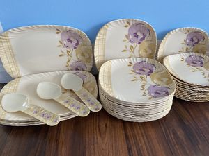 Kitchen dish set (Plates, and trays + more) for Sale in Manassas, VA