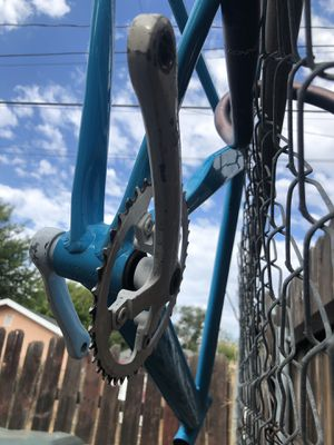 Fixie bike frame with giant handle bars for Sale in Ontario, CA