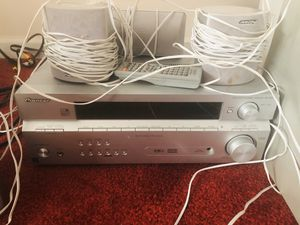 Pioneer Stereo Receiver High Quality 192khz 24bit D/A (plays windows media and Dolby digital) for Sale in Smyrna, GA