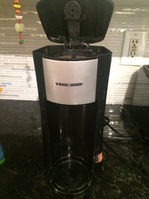 Black and decker coffee maker for Sale in Tampa, FL