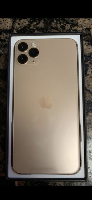 Brand new iPhone 11 Max Pro Gold 256GBs for Sale in Chula Vista, CA