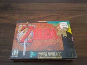 SNES Zelda NEW factory sealed with original H-seal for Sale in Hollywood, FL