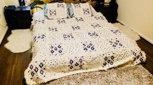 Vintage Moroccan handmade blanket for Sale in Arlington, VA