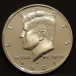 2001S KENNEDY Half Silver Proof for Sale in Kennewick, WA
