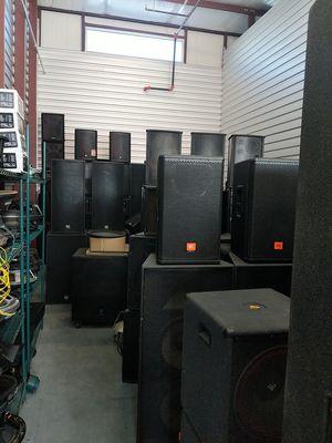 Pro audio / DJ equipment QSC, Crown, Crest, JBL, Yorkville, EAW, DBX, EV for Sale in Winter Garden, FL