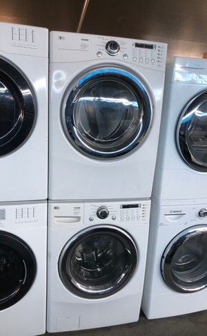LG washer and gas dryer. Set for Sale in Los Angeles, CA