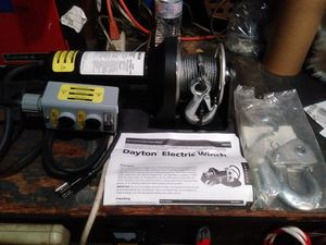 Dayton electrical winch for Sale in Norwalk, CA