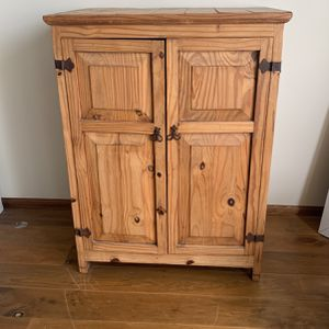 Wooden Tall Open Chest for Sale in San Diego, CA