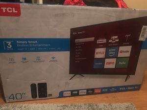 40 inch brand new roku tv for Sale in Cleveland, MS