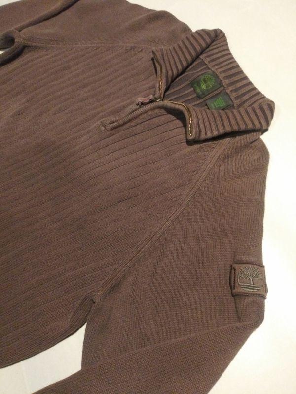 Brown Timberland Sweater
