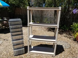 Sterilite shelving unit for Sale in Belmont, CA