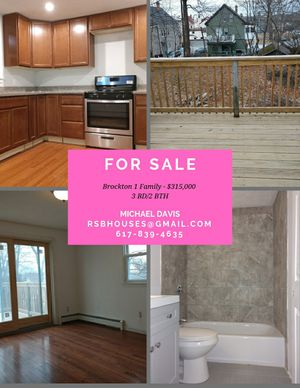 Updated 3br, 2br single family for Sale in Watertown, MA