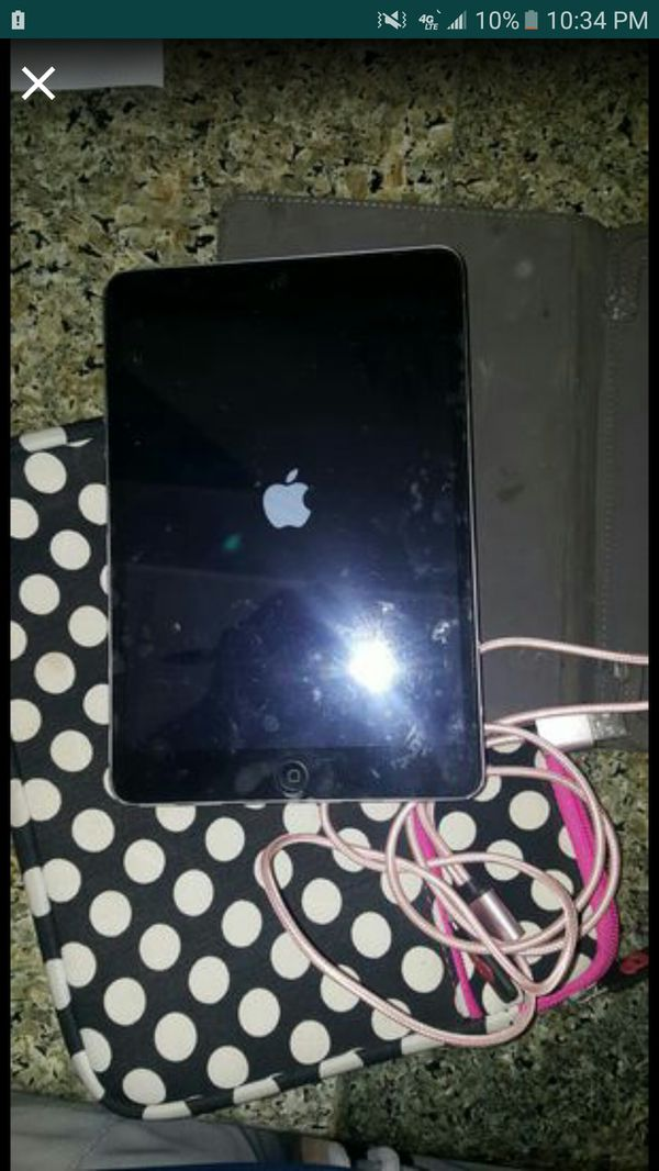 ipad black mini $75