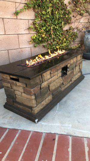 Gas fire pit 20 inch 50,000 btu for Sale in Fontana, CA