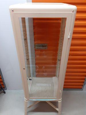 3 Retro glass shelves cabinets for Sale in Miami, FL