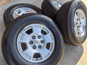 Chevy Suburban 1500 Silverado Tahoe Wheels Tires 265 70 17 Rims P265/70R17 for Sale in Charlotte, NC