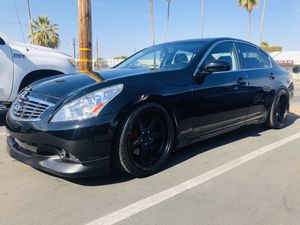 2007 Infiniti G35 full fromt emd swap with G37 with LED for Sale in Sacramento, CA