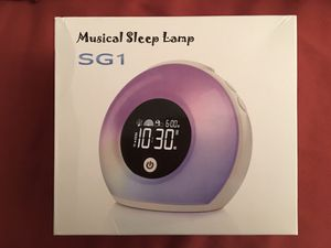 Yapeach Wake Up Light Alarm Clock, Smart Kids Night Lights Digital Alarm Clock LED Wireless Bluetooth Speaker Lamp for Bedroom Living Room Decor for Sale in Indian Creek, IL