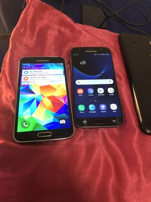 Samsung Galaxy S7 & Samsung Galaxy S5 for Sale in Watertown, MA