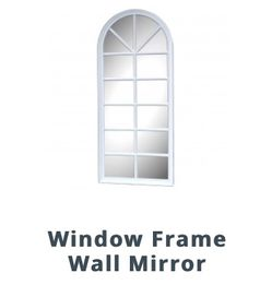 Window frame wall mirror for Sale in Columbus,  OH