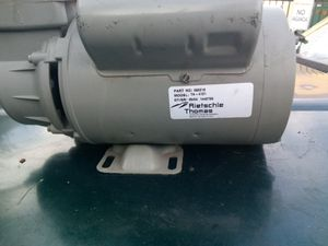 Rietschle Thomas compressor /pump motor for Sale in Riverside, CA
